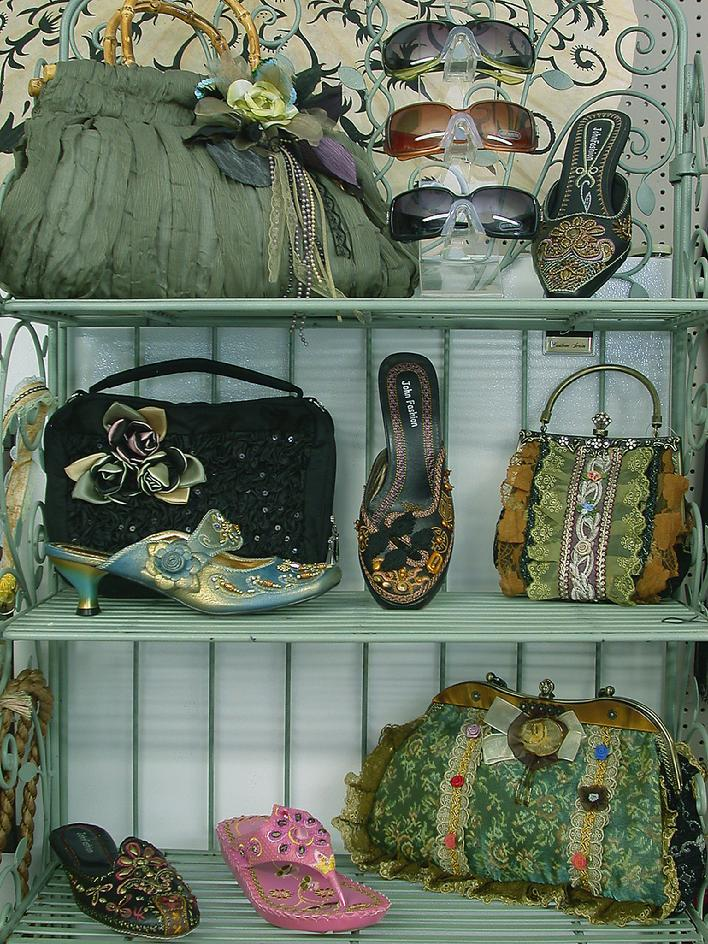"""Purses-Shoes-Cheryl Lynn Gallery"""